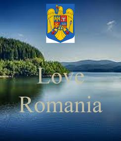 Poster:  Love  Romania