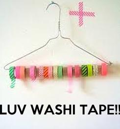 Poster:     LUV WASHI TAPE!!