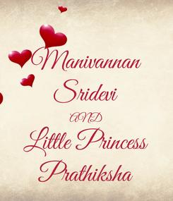 Poster: Manivannan Sridevi AND Little Princess Prathiksha