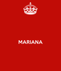 Poster:   MARIANA
