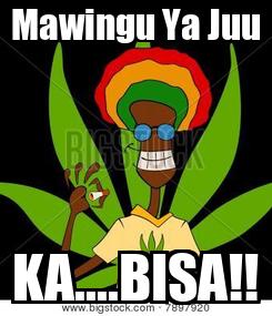 Poster: Mawingu Ya Juu KA....BISA!!