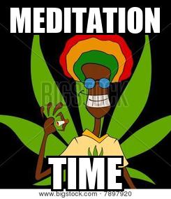 Poster: MEDITATION TIME