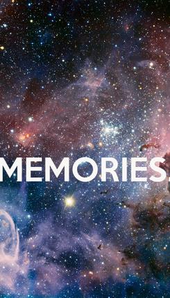 Poster:   MEMORIES.