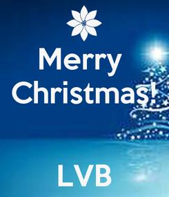 Poster: Merry  Christmas!   LVB