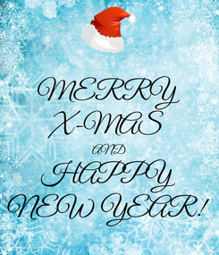 Poster: MERRY X-MAS AND HAPPY NEW YEAR!