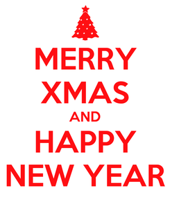 Poster: MERRY XMAS AND HAPPY NEW YEAR