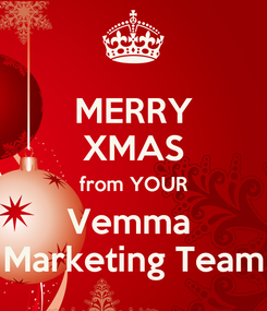 Poster: MERRY XMAS from YOUR Vemma  Marketing Team