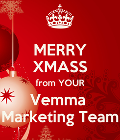 Poster: MERRY XMASS from YOUR Vemma  Marketing Team