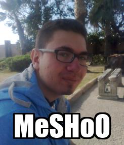 Poster:  MeSHoO