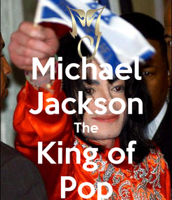 Poster: Michael Jackson The King of Pop