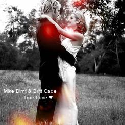 Poster: Mike Dirnt & Britt Cade              True Love ♥