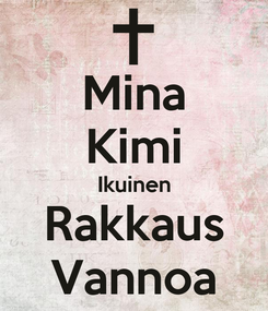 Poster: Mina Kimi Ikuinen Rakkaus Vannoa