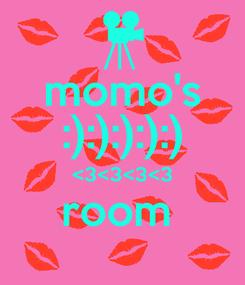 Poster: momo's :):):):):) <3<3<3<3 room