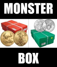 Poster: MONSTER BOX