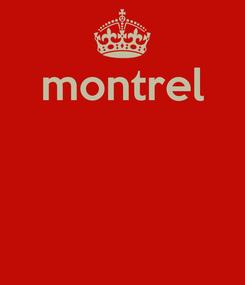 Poster: montrel