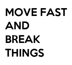 Poster: MOVE FAST