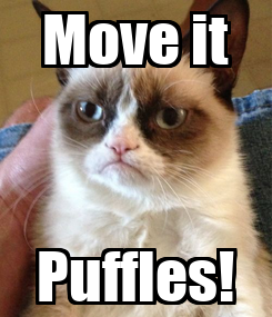 Poster: Move it Puffles!