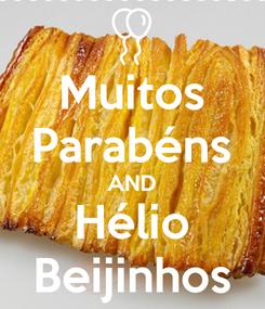 Poster: Muitos Parabéns AND Hélio Beijinhos