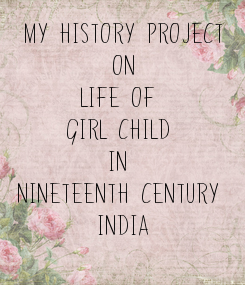 Poster: My History Project