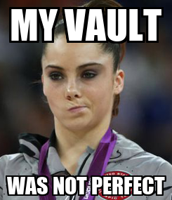 Poster: MY VAULT WAS NOT PERFECT
