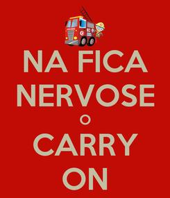 Poster: NA FICA NERVOSE O CARRY ON