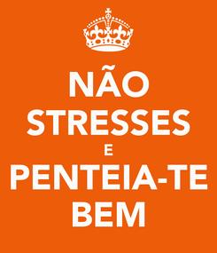 Poster: NÃO STRESSES E PENTEIA-TE BEM