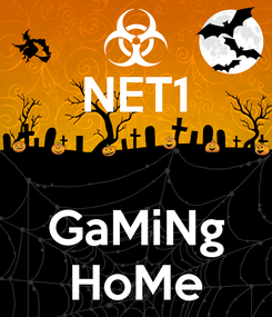 Poster: NET1   GaMiNg HoMe