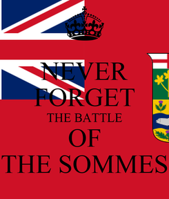Poster: NEVER FORGET THE BATTLE OF THE SOMMES