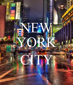 Poster: NEW YORK  CITY