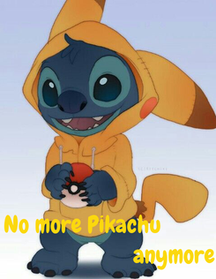 Poster:    No more Pikachu                                 anymore