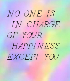 Poster: NO ONE IS