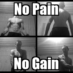 Poster: No Pain No Gain