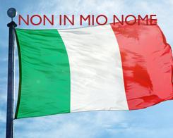 Poster: NON IN MIO NOME