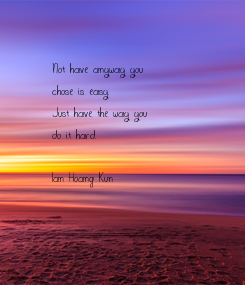 Poster: Not have anyway you