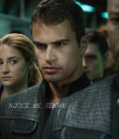Poster:             NOTICE ME, SENPAI.