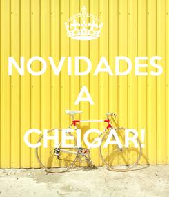 Poster: NOVIDADES A  CHEIGAR!