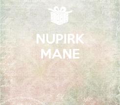 Poster: NUPIRK MANE