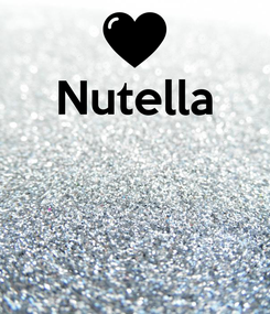 Poster: Nutella