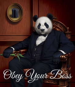 Poster:     Obey Your Boss
