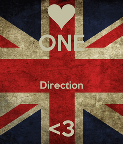 Poster: ONE  Direction  <3
