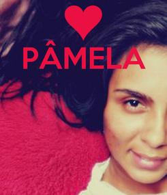 Poster: PÂMELA
