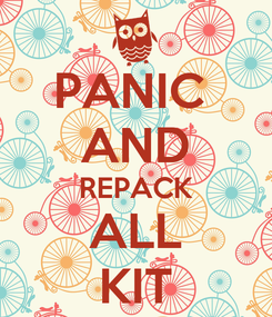 Poster: PANIC  AND REPACK ALL KIT