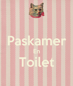 Poster:  Paskamer En Toilet