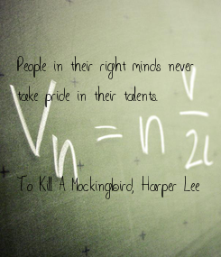 Poster: People in their right minds never 