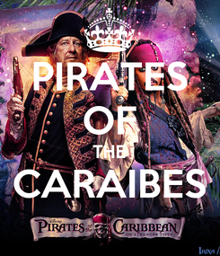 Poster: PIRATES OF THE CARAIBES