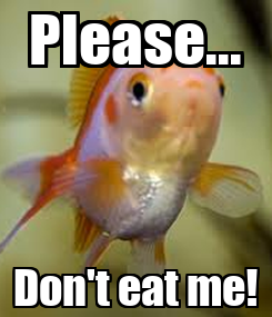 Poster: Please... Don't eat me!