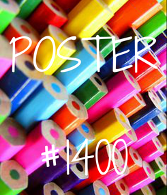 Poster: POSTER  #1400
