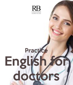 Poster:   Practice English for doctors