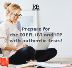 Poster: Prepare for the TOEFL iBT and ITP with authentic tests!