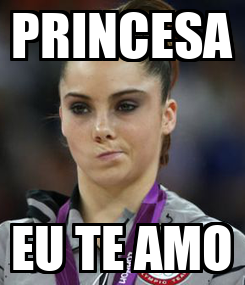 Poster: PRINCESA EU TE AMO